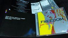 Janne Da Arc◆FREEDOM◆初回盤 52Pフォトブック付◆2004年発売◆
