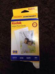 Kodak  インクジェットポストカード  光沢紙