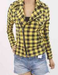 JSG ライダース チェックシャツ