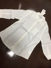 新品&即決.dazzlin.シンプルな白シャツ/6,372円