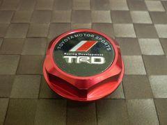 TRD トヨタ オイル フィラー キャップ レッド