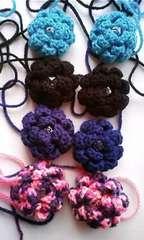毛糸のお花モチ-フ福袋・手芸好きの方に