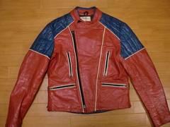 ヴィンテージ カナダ WOLFF ライダースジャケット Mサイズ