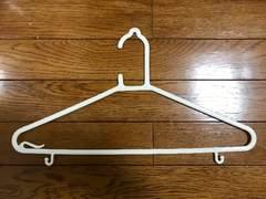 衣類プラスチックハンガー5本セット