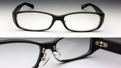 高品質モデル・鼻あて付きの高品質アイウェア・ブラック黒・新品