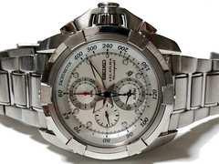 良品 SEIKO VELATURA【クロノグラフ】極レア 大型メンズ腕時計