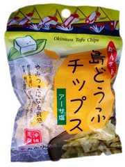 沖縄 新作お菓子 島どうふチップス アーサ塩 65g O45M-3