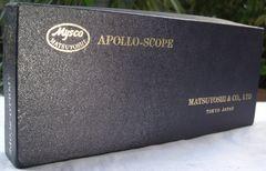 APOLLO-SCOPE/(株)松吉医科器機::聴診器中古美品!!元箱入り
