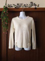 AG♪オフホワイトのセーターM美美品