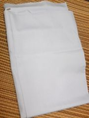 NEW*シーチング布薄手生地縦48cm&横93cm薄い水色弁当袋&巾着