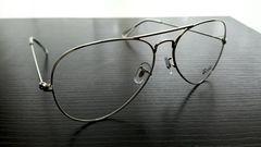 ◆Ray-Banレイバン.アビエーターメガネ.新品.送料250円!サングラス.ウェイ.モスコット.