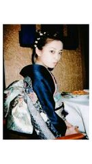 浜崎あゆみの着物姿の生写真