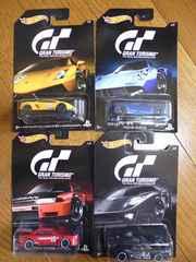 ホットウィール グランツーリスモ4台 スカイラインGT-R FORD GT LM