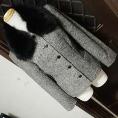 □ストロベリーフィールズ/毛皮 フォックスファー付ジャケット