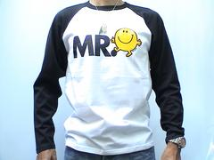 Mr.Men&little Miss★L/STシャツ新M WH*BKT3