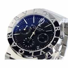 正規品 BVLGARI ブルガリ 自動巻き クロノ 腕時計 BB38BSSDCH