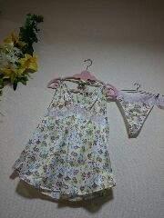 ★新品6L★花柄ベビードール★Tバック