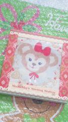 ディズニーシー TDS クリスマス 30周年 箱入 ミニ タオル シェリーメイ プレゼントにも