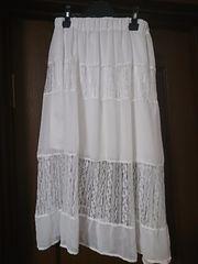 DURAS スカート ホワイト