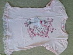 メゾピアノ パフスリーブ半袖Tシャツ140�p