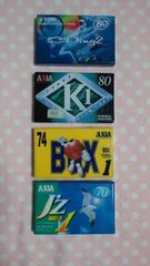 カセットテープ☆4本セット