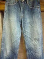 リーバイス503濃淡色落ちジーンズ