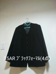 新品タグ35BR★ブラックフォーマル4点セット