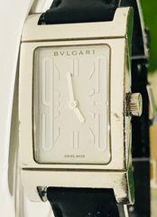良品ブルガリレッタンゴロレディース時計稼働品箱付き