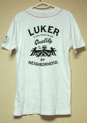 ◆LUKER BY NEIGHBORHOOD◆バックプリント◆Tシャツ◆