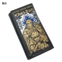 新品☆キングダム≪集合≫チェーン付き合皮製ロングウォレット