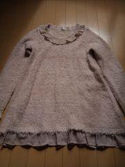 かわいい!!ロングチュニックセーター