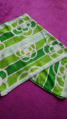 モバオクで買える「美品 CLATHAS クレイサス パレオ グリーン 緑 スカーフに」の画像です。価格は780円になります。