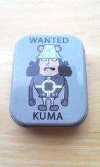 ワンピースクマミニ缶