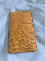 ルイヴィトン Louis Vuitton エピ 二つ折り札入れ 財布 長財布