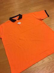 UniteAthle  カノコ半袖ポロシャツ  オレンジ  sizeXXXXL