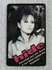 hide/カード
