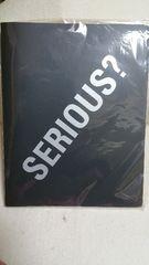 布袋「SERIOUS?」ツアーグッズ/ステッカー付バインダー