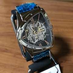 新品?コグ COGU フルスケルトン 自動巻き 腕時計 BS0TM-BRG