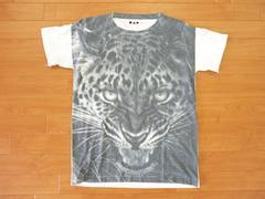 豹 ヒョウ Tシャツ 白 M