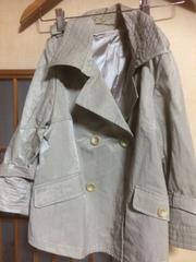 オンザカウチ八部袖薄手ジャケット★クリックポスト185円