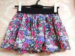 即決!! SALE!! 新品未使用 花柄バルーンスカート