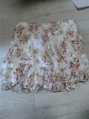 LIZ LISA花柄フリルレーススカート