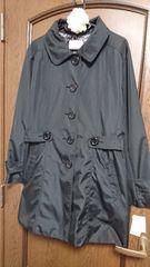 大きいサイズ☆THEORIAの埃&花粉が付きにくいスプリングコート*4L