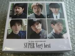 V6/SUPER Very best【3CD+グッズ】Loppi・HMV限定盤/新品BOX難有