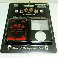 CBGB&OMFUG 第3世代 iPod nano(video) 専用 ハードケース 黒/赤