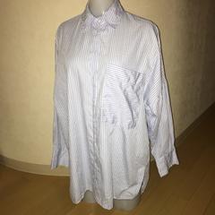 ZARA ザラ ストライプ ゆったりシャツ S()m-L)