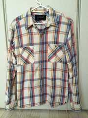 SOLCA ロンハーマン購入 チェックシャツ XS!