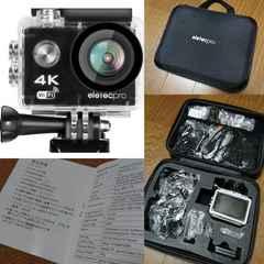 新品/EletecPro☆Wi-Fiアクションカメラ4K