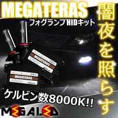 mLED】レクサスLS600h前期中期/フォグランプHIDキット/HB4/8000K