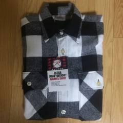 Rothco ロスコ ネルシャツ チェック 定番 フランネルシャツ シャツ ブラック 長袖 US 美品
